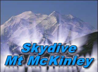 Skydive Mt Mckinley
