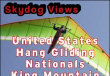 King Mountain Hang Gliding Nationals 2009
