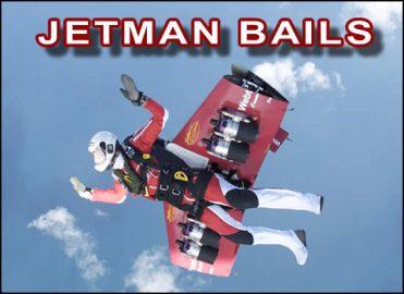 Jetman Bails into Ocean