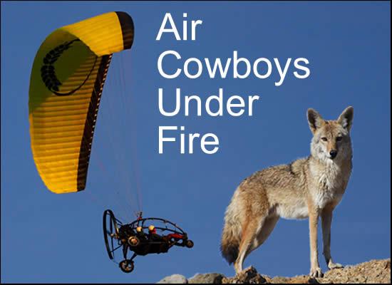Air Cowboys Under Fire