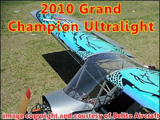 Belite Aircraft Named 2010 Grand Champion Ultralight