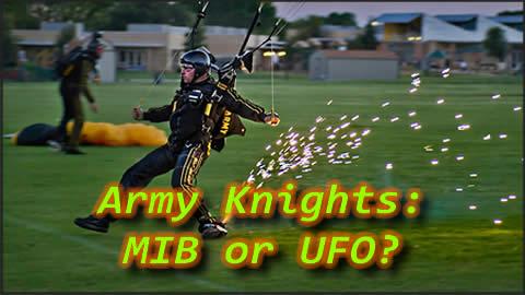 US Army Parachute Team Causes Stir in Texas