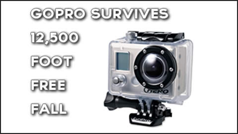GoPro Survives Free Fall