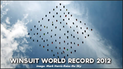 Wingsuit World Record 2012
