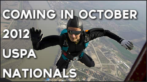 Coming in October – 2012 USPA National Skydiving Championships