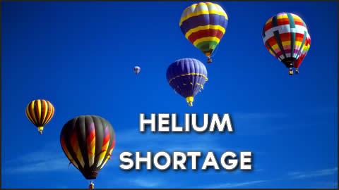 Helium Shortage for Balloonist