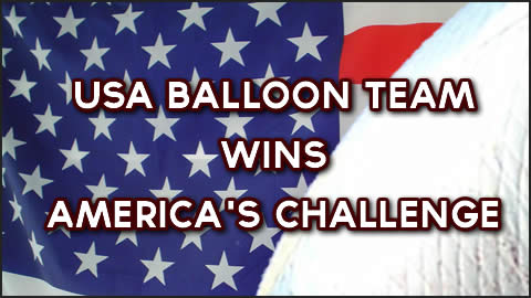 America's Challenge Gas Balloon Race 2012