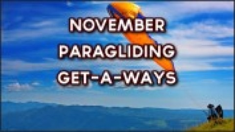 November Paragliding Get A Ways
