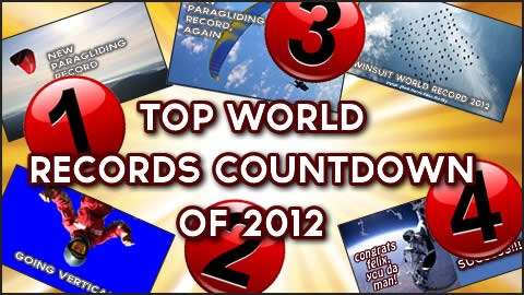 Top World Records Countdown of 2012