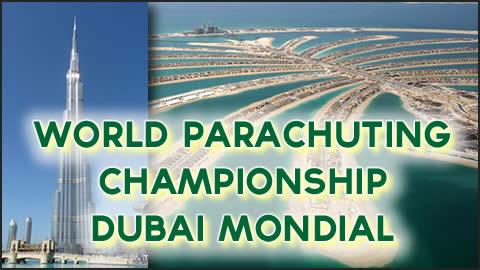 World Parachuting Championship - Dubai Mondial