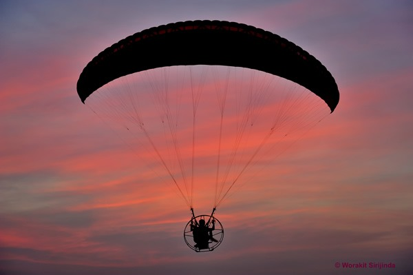 About Powered Paragliding