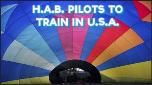 Hot Air Balloon Pilots to Train in the USA