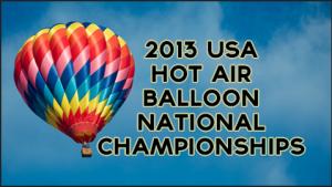 2013 Hot Air Balloon National Championships