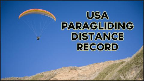 USA Paragliding Distance Record