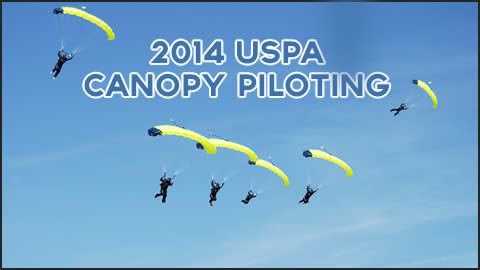 Highlights from the 2014 USPA National Skydiving Championships of Canopy Piloting