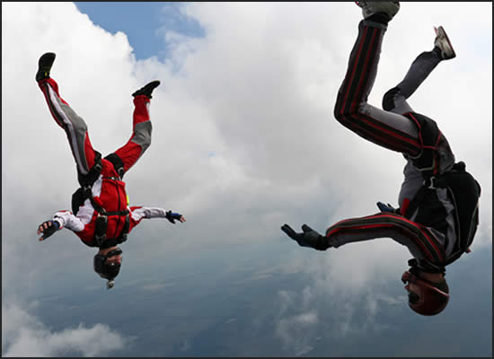 Vertical Formation Skydiving Record