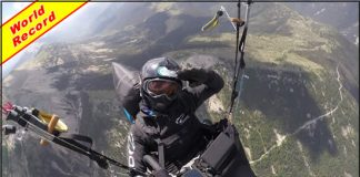 Seiko Fukuoka's Record-Breaking 406km Paragliding Flight