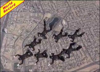 Golden Knights Set New Record at World Air Games 2015