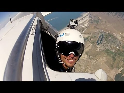 POV of a Dropzone Pilot
