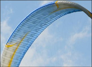 World Record for Paragliding Accuracy