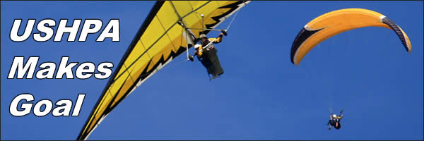 The United States Hang Gliding and Paragliding Association meet goal of becoming self insured