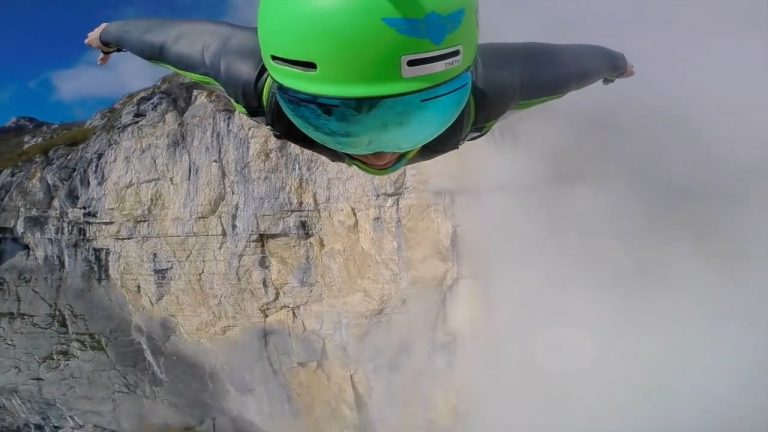Cows, Naked Base Jumpers, and Wingsuits