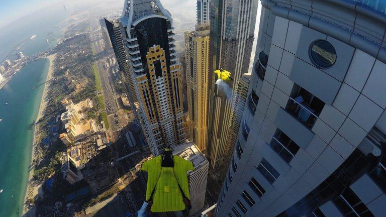 Vertical Maze: Urban Wingsuiting