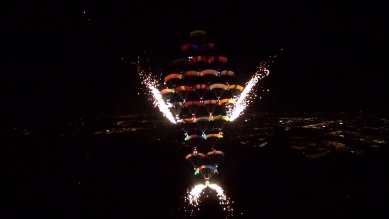 The Largest Night Formation in History