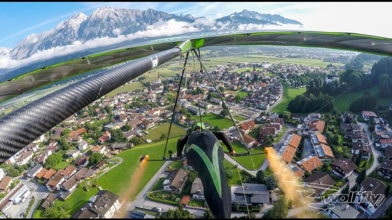 Speed Hang Gliding With Wolfgang