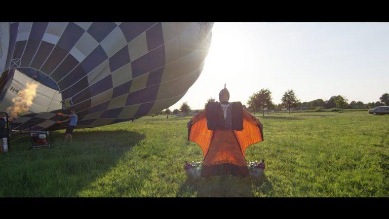 Real Life Ironman – Wingsuit & Jet Thrusters