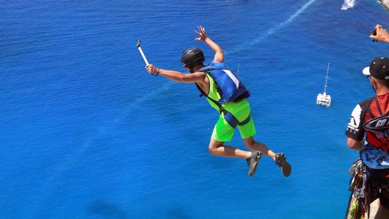 Navagio Beach Base Jumps