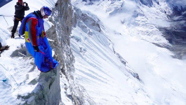 Base Jump from 22,000 Feet