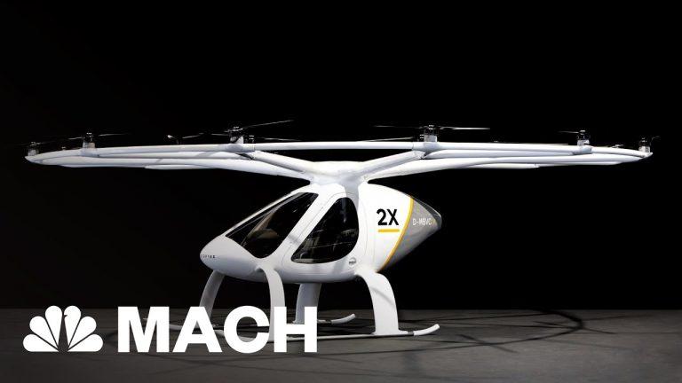 Volocopter – Autonomous Air Taxi