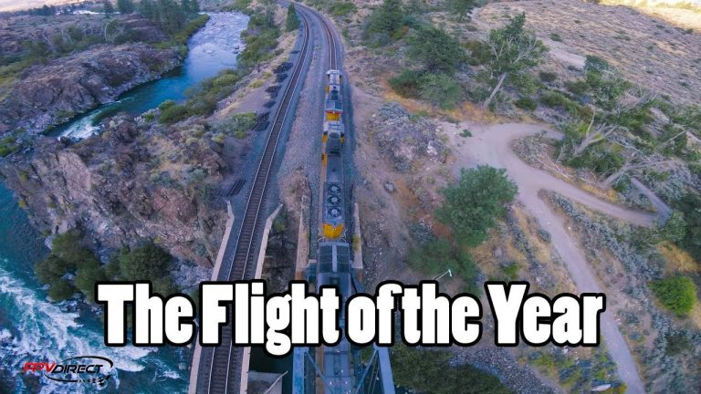 Drone Piloting Onto, Inside, and Under a Moving Train