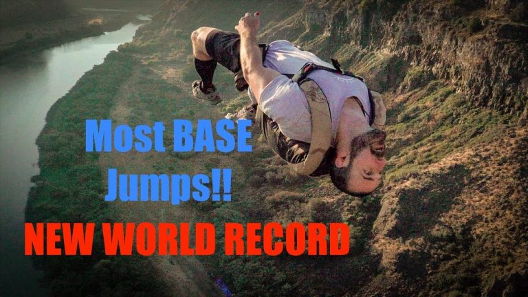 Perrine Bridge Base Jump Record Broken Again