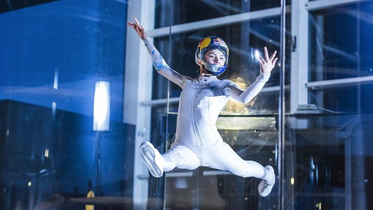 The Art of Indoor Skydiving with Maja