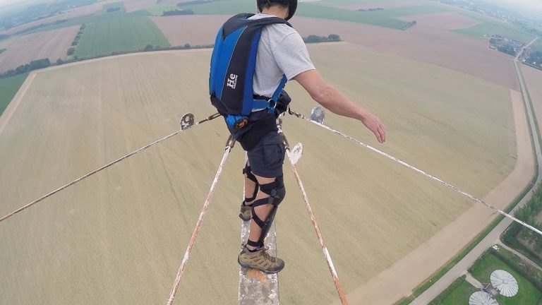 Scariest Base Jump Ever?