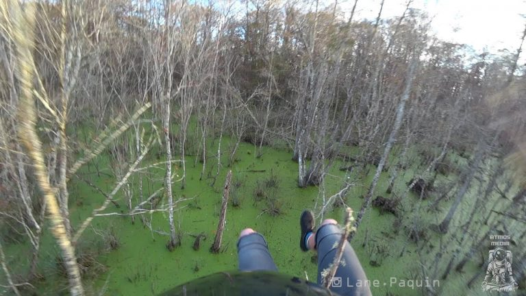 8 Skydivers Land in Swamp
