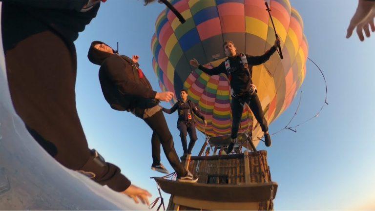 Hot Air Balloon Skydive in Sunny California