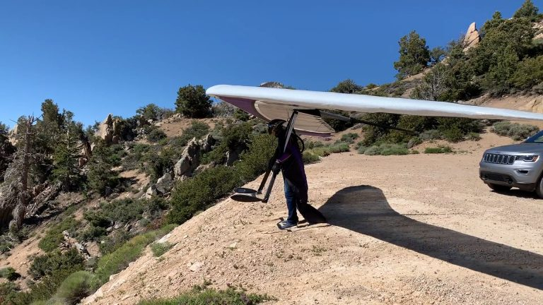 Hang Gliding World Record Out and Return