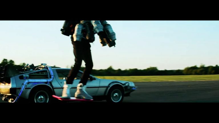 Going McFly on a Hoverboard