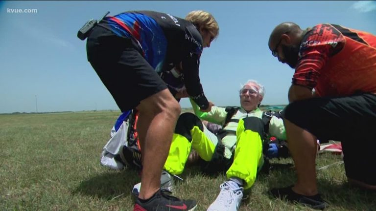 103 Year Old Skydiver Sets World Record