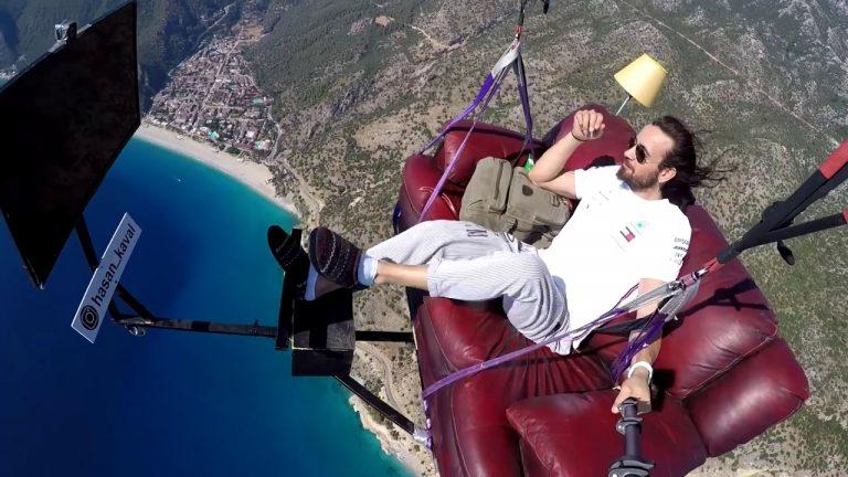 Couch Potato Paragliding