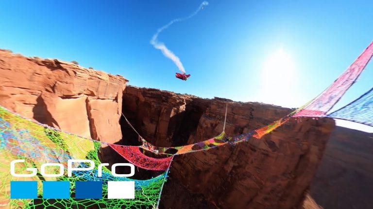 Wingsuit Fly-Through in Moab, Utah