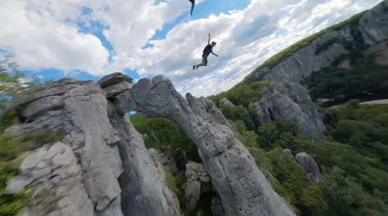 FPV Base Jumping