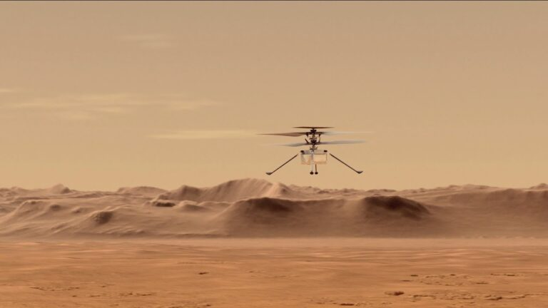 Mars Ingenuity Drone – First Flight on Another Planet